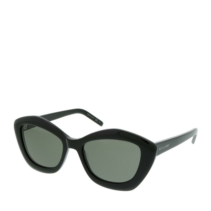 Sonnenbrille, Saint Laurent, SL 423-001 54 Sunglasses Acetate Black