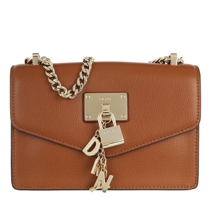 bags, DKNY, Elissa Sm Shldr Flp Caramel