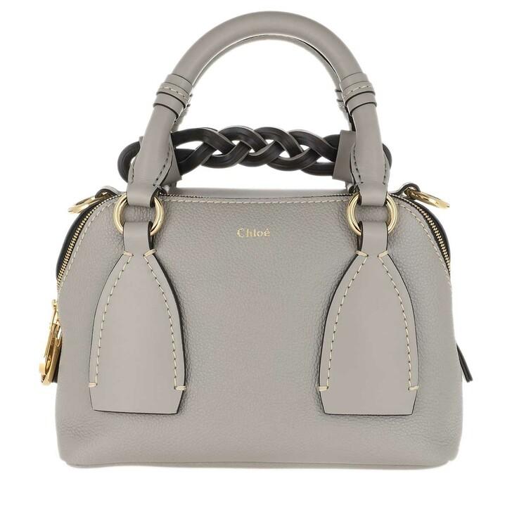 bags, Chloé, Daria Shoulder Bag Small Stormy Grey