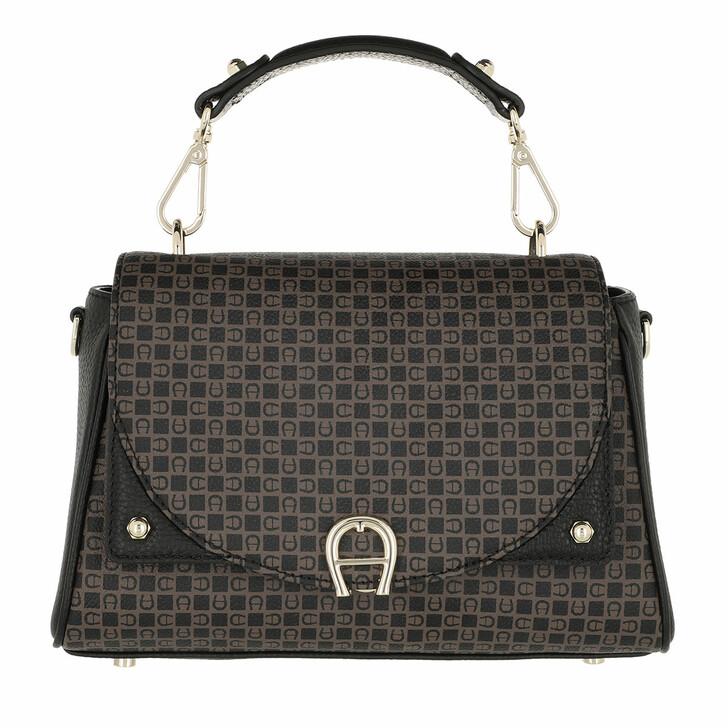 bags, AIGNER, Diadora Handbag Dadino Brown