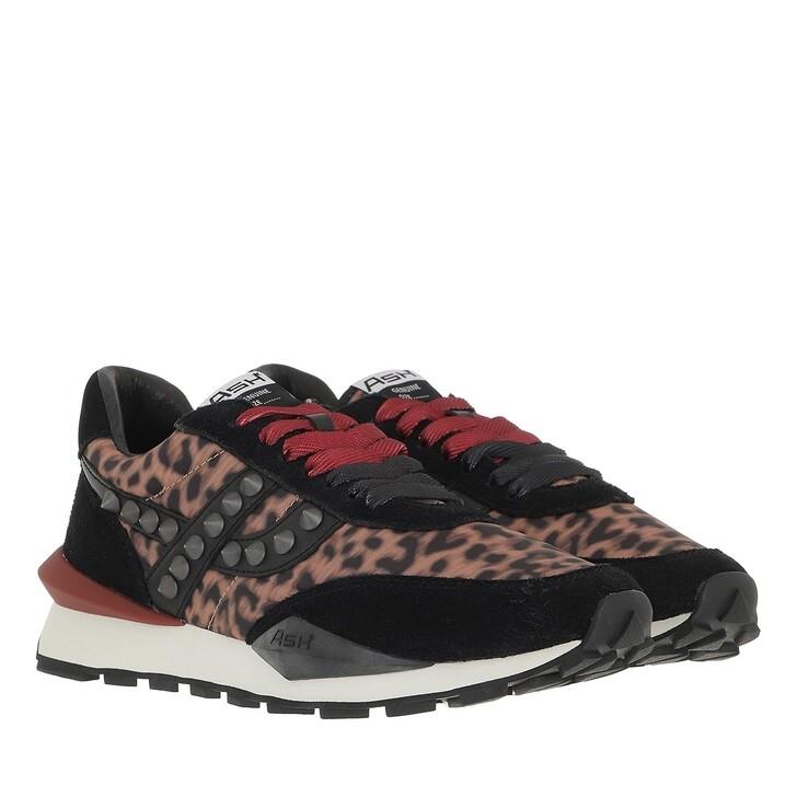 shoes, Ash, Spiderstud Suede Black Cheeta