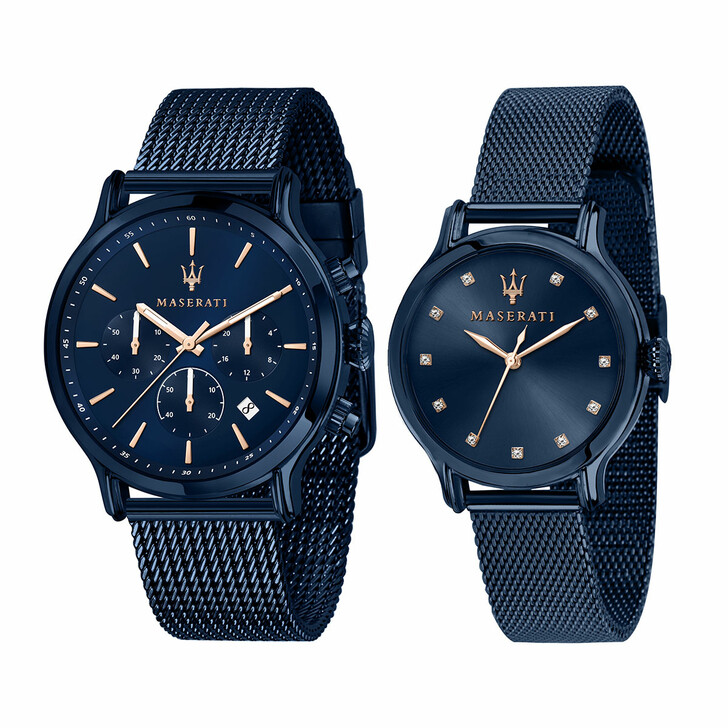 Uhr, Maserati, Blue Edition Special Pack Pair Blue