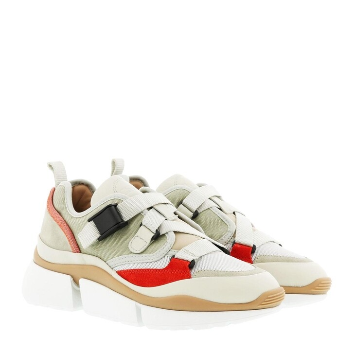 Schuh, Chloé, Sonnie Low Top Sneaker Light Eucalyptus