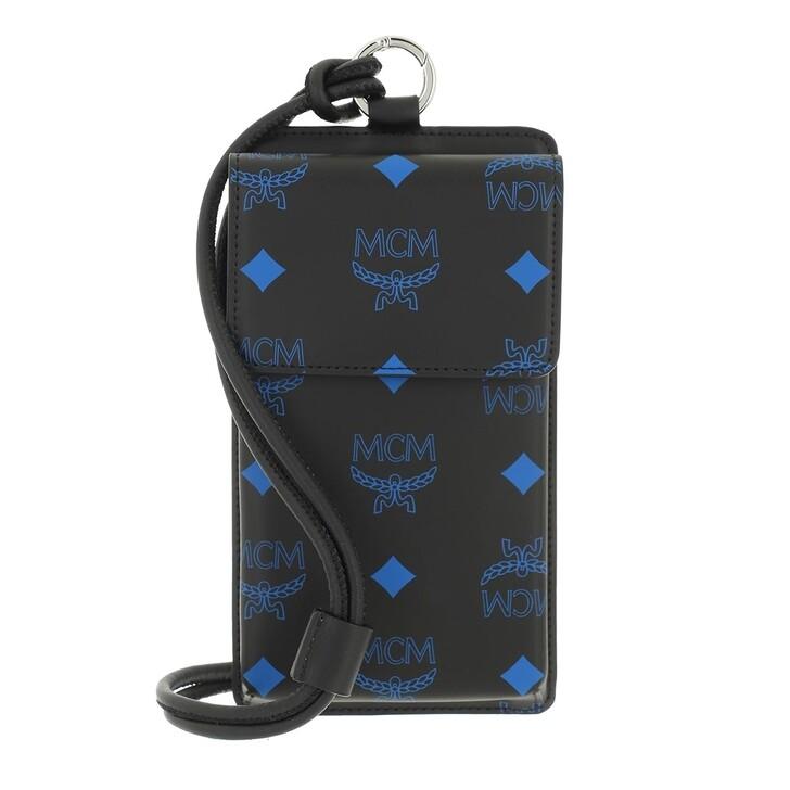 smart_cases, MCM, Color Splash Logo Phone Lanyard  Black