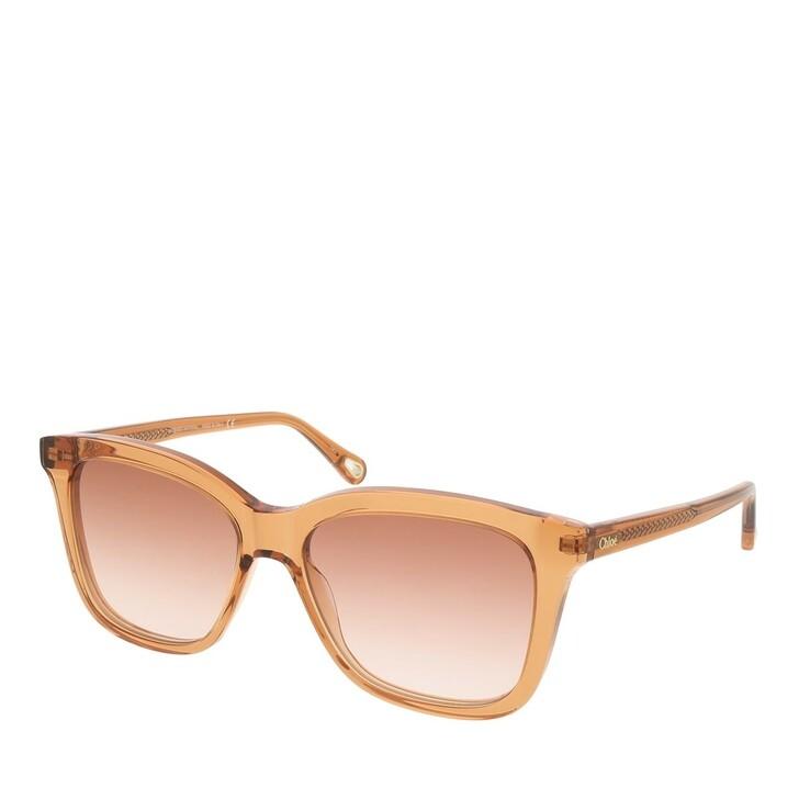 sunglasses, Chloé, CH0079S-002 56 Sunglass Woman Bio Acetate Orange-Orange-Orange