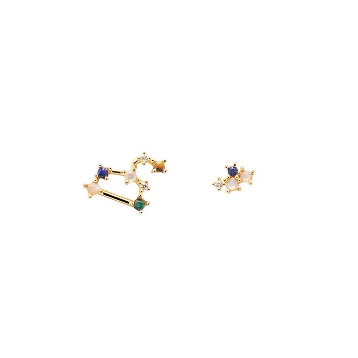 Ohrring, PDPAOLA, Earrings LEO Yellow Gold