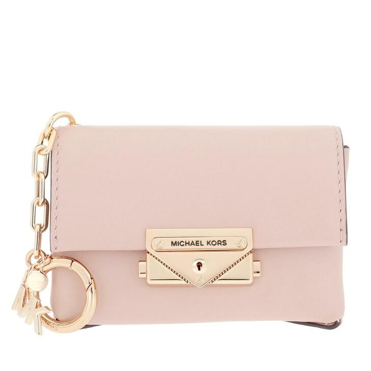 keyrings, MICHAEL Michael Kors, Charms Leather Cece Bag Charm Soft Pink