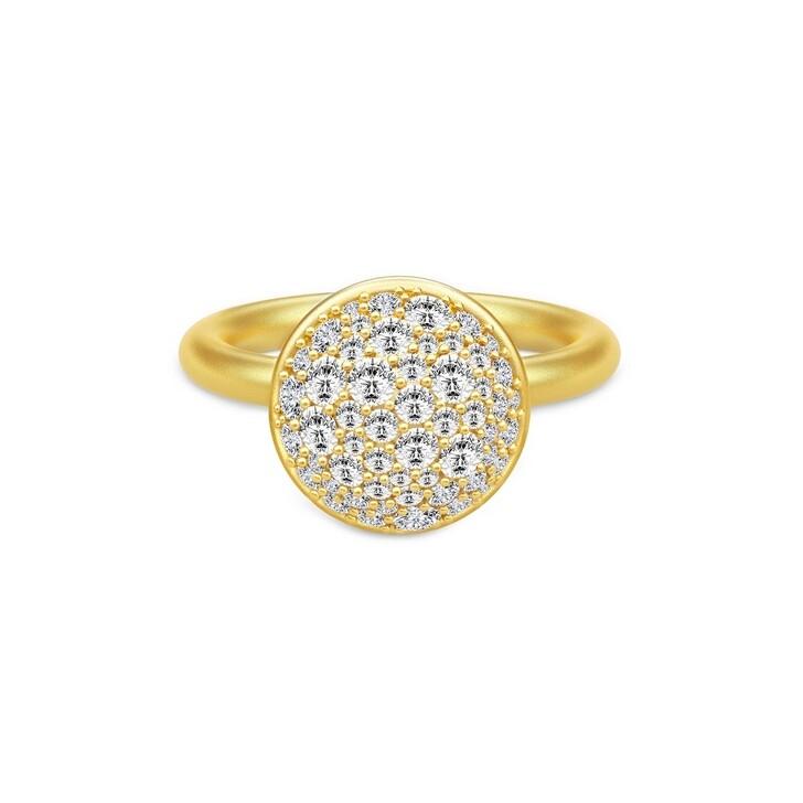 rings, Julie Sandlau, Multipavé Ring Gold