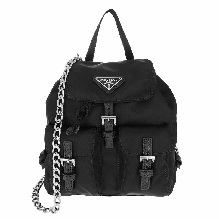 Reisetasche, Prada, Vela Mini Bag Black