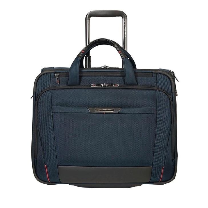 """Handtasche, Samsonite, Pro DLX 17,3"""" Laptop Rolling Tote Bag Dark Blue"""