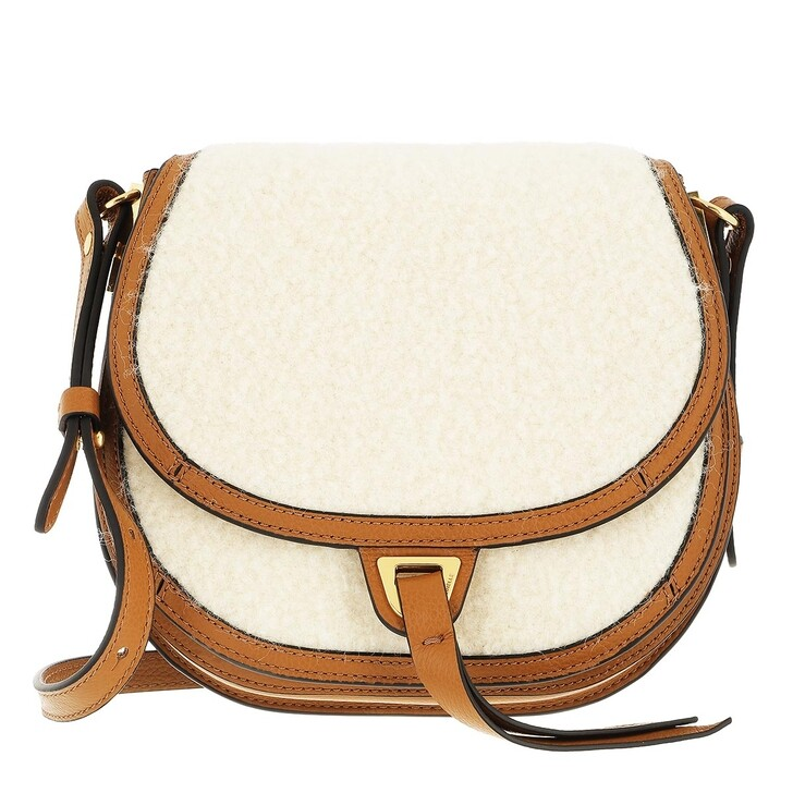 bags, Coccinelle, Arpege Wool Handbag Solid Wool/Bott.Leat. / Natura