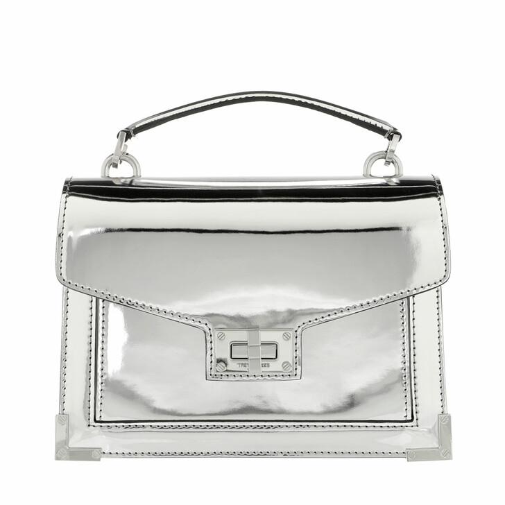 Handtasche, The Kooples, Emily Mirroir Silver