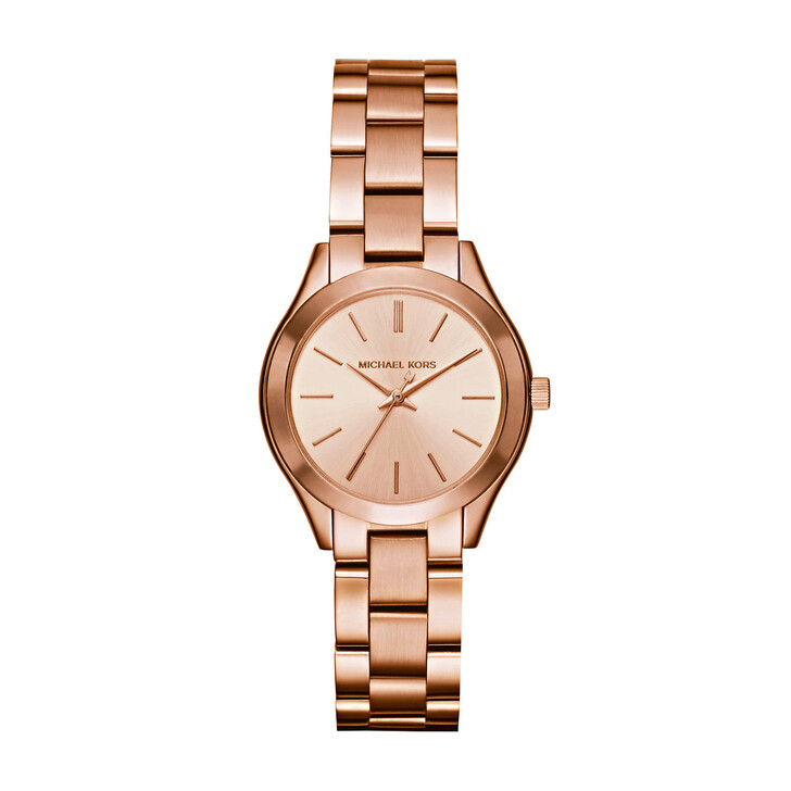 Uhr, Michael Kors, MK3513 Ladies Slim Runway Watch Rosegold