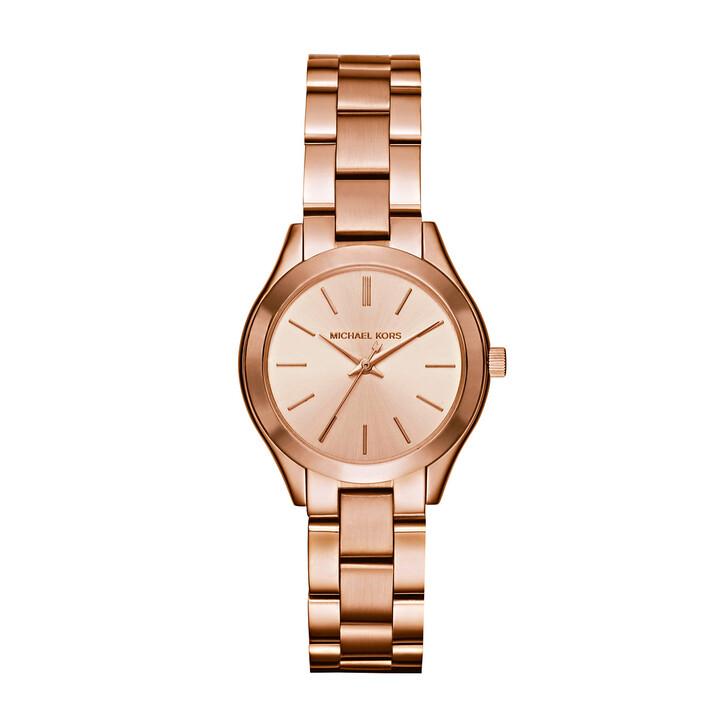 watches, Michael Kors, MK3513 Ladies Slim Runway Watch Rosegold