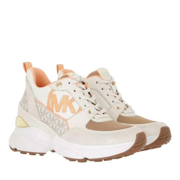 shoes, MICHAEL Michael Kors, Mickey Trainer Vanilla/Cream