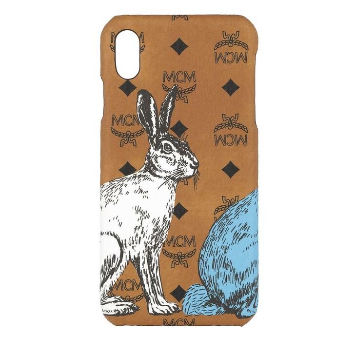 Smartphone/Tablet case (Case), MCM, iPhone XS Max Case Cognac