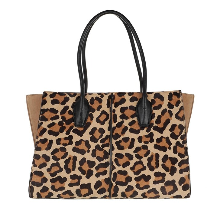 Handtasche, Tod's, Leopard Holly Medium Tote Bag Multi