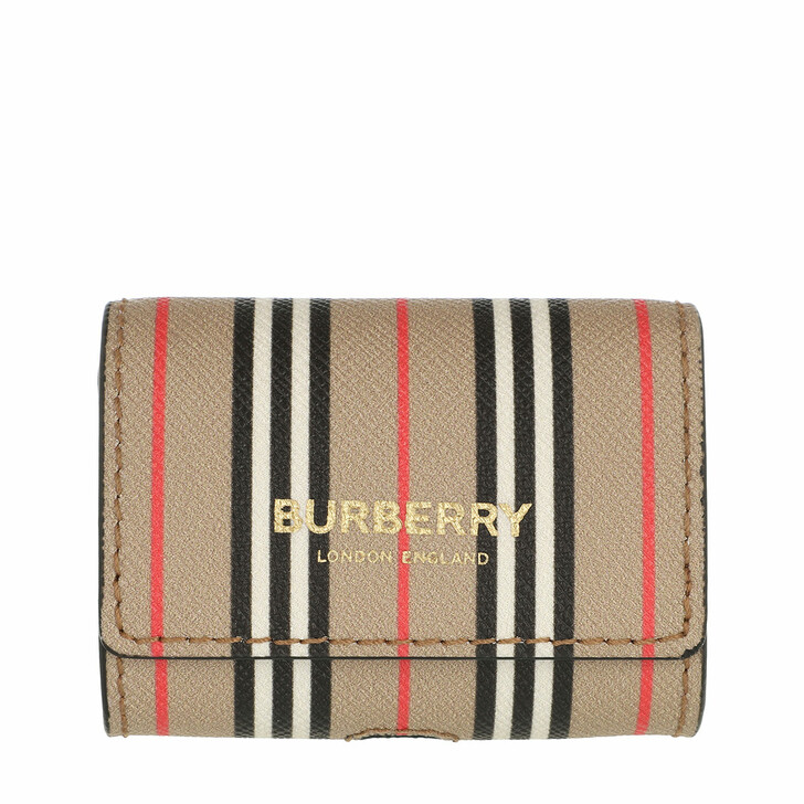 Smartphone/Tablet case (Case), Burberry, AirPods Pro Case Striped Archive Beige