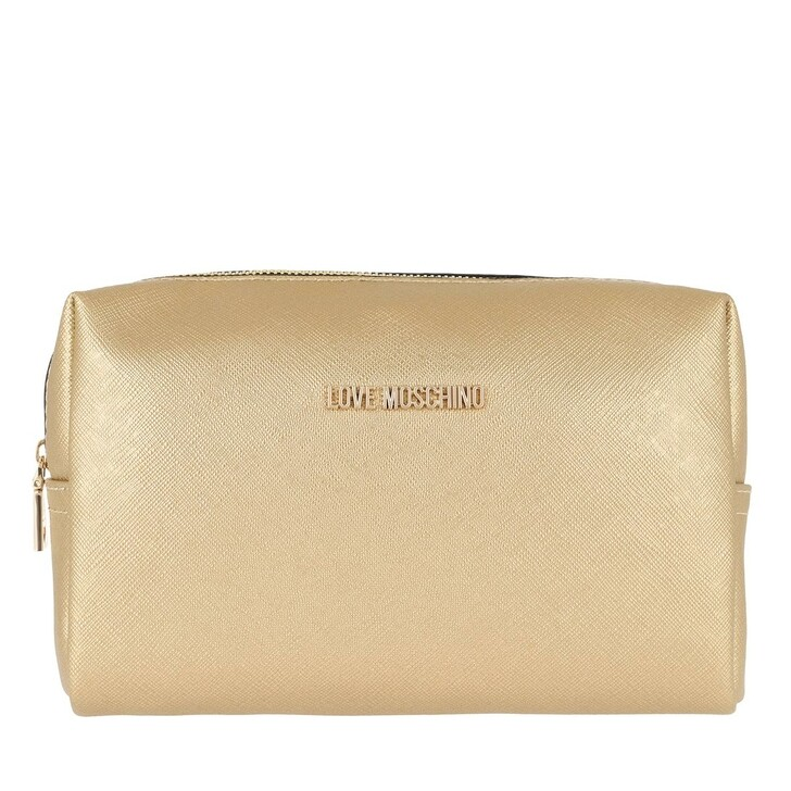 Reisetasche, Love Moschino, Beauty Case Pouch   Oro