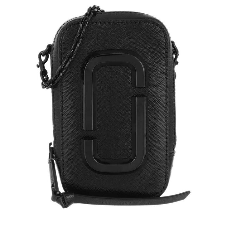 bags, Marc Jacobs, The Hot Shot Shoulder Bag Leather Black