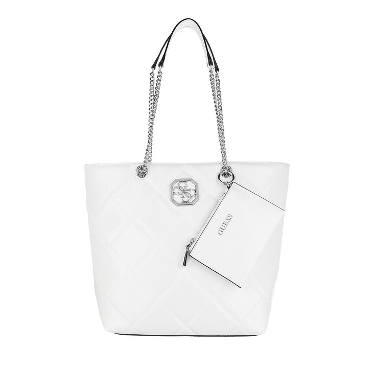 Handtasche, Guess, Dilla Elite Society Carryall White
