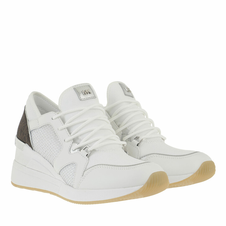 shoes, MICHAEL Michael Kors, Liv Trainer Optic White Multi