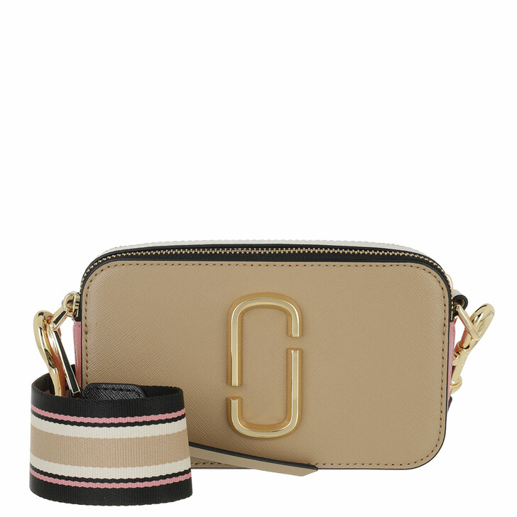 bags, Marc Jacobs, The Snapshot Small Camera Bag Beige