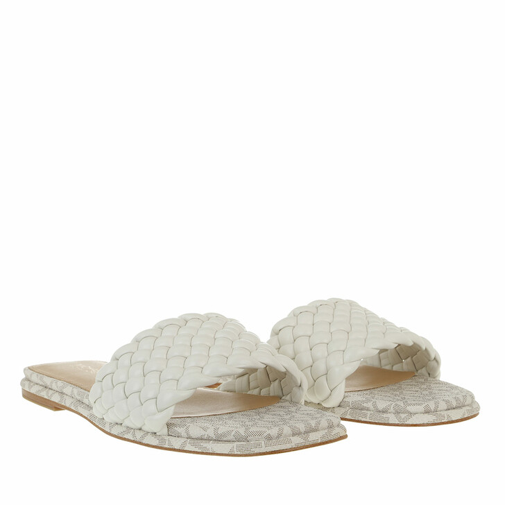 shoes, MICHAEL Michael Kors, Amelia Flat  Cream