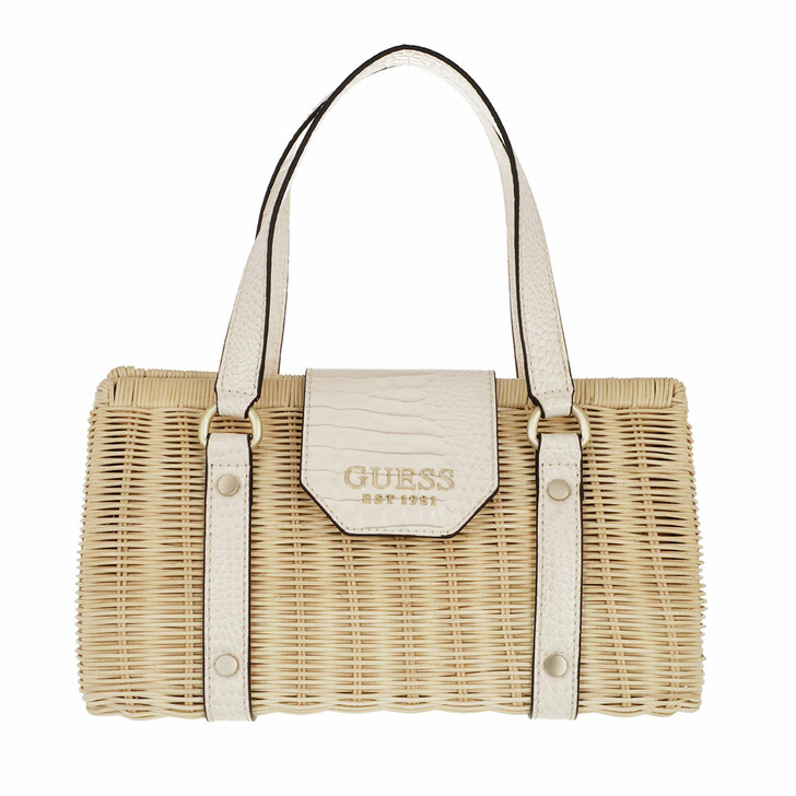 Handtasche, Guess, Paloma Satchel Stone