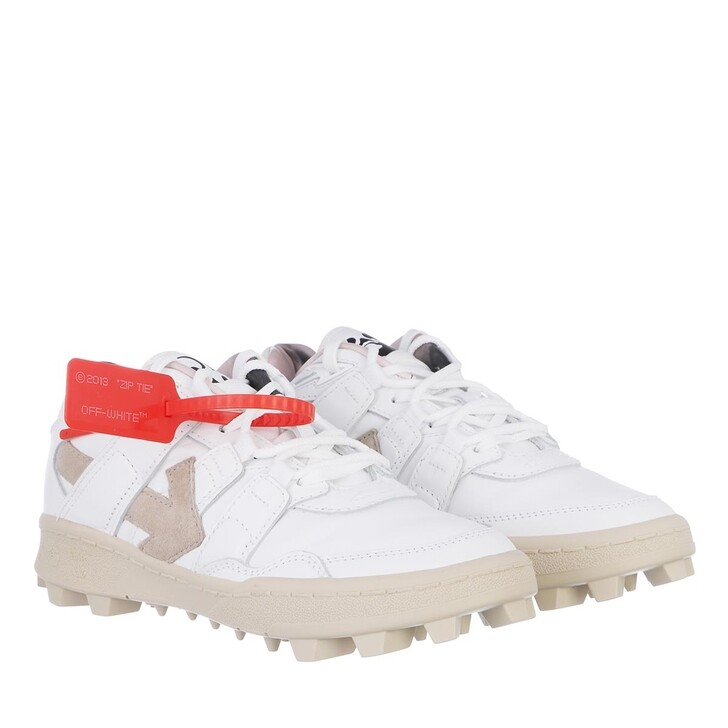 shoes, Off-White, Suede Mountain Cleats Sneakers White White