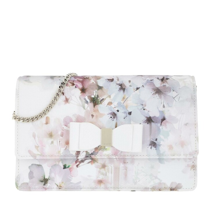 Handtasche, Ted Baker, Vivian Vanilla Bow Evening Bag Ivory