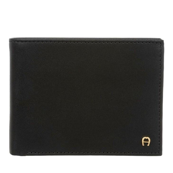 Geldbörse, AIGNER, Basics Wallet Black
