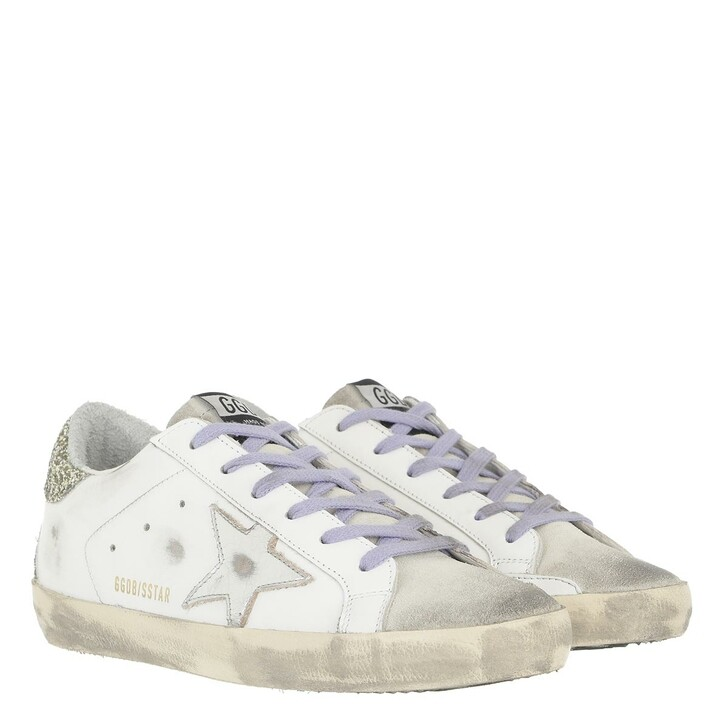 shoes, Golden Goose, Superstar Sneakers Leather Vintage White