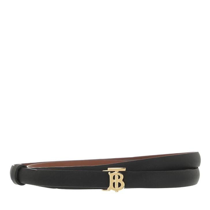 belts, Burberry, Reversible Belt Leather Black/Malt Brown