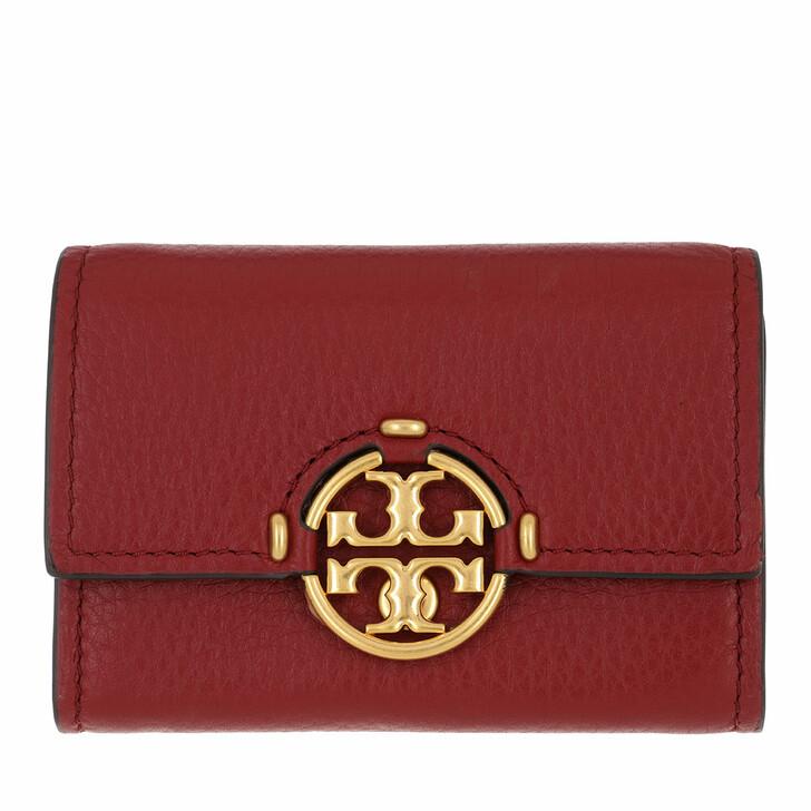 Geldbörse, Tory Burch, Miller Mini Wallet Loganberry
