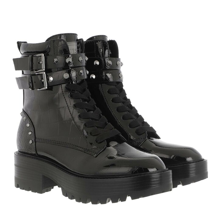 Schuh, Guess, Florice Boot Leather Black