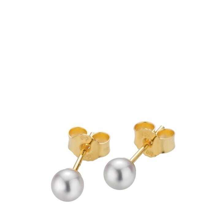 Ohrring, Gellner, Stud Earrings Cultured Akoya Pearl 4,5 Gold