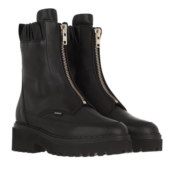 shoes, Nubikk, Fae Wayne Black Leather