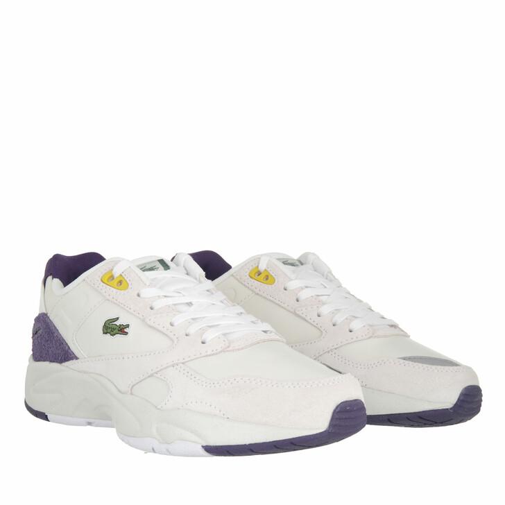 shoes, Lacoste, Storm 96 Lo     Off White Purple