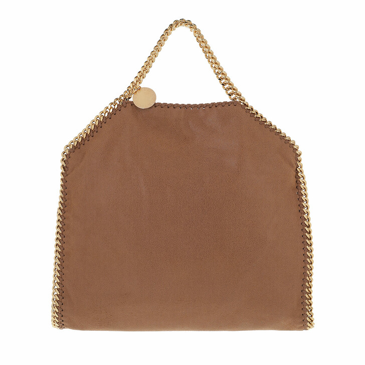 bags, Stella McCartney, Falabella Shaggy Deer S Tote Deer/Gold