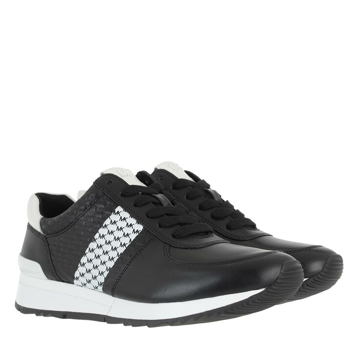 shoes, MICHAEL Michael Kors, Allie Wrap Trainer Black