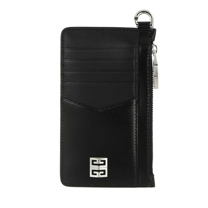 wallets, Givenchy, Wallet Leather Black