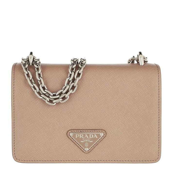 bags, Prada, Crossbody Bag Saffiano Leather Cameo Beige