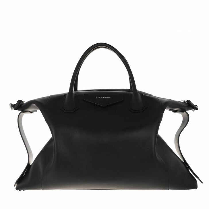 bags, Givenchy, Large Antigona Soft Bag Leather Black