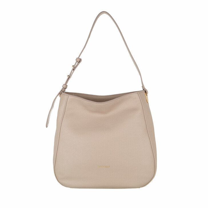 bags, Coccinelle, Handbag Grained Leather  Powder Pink