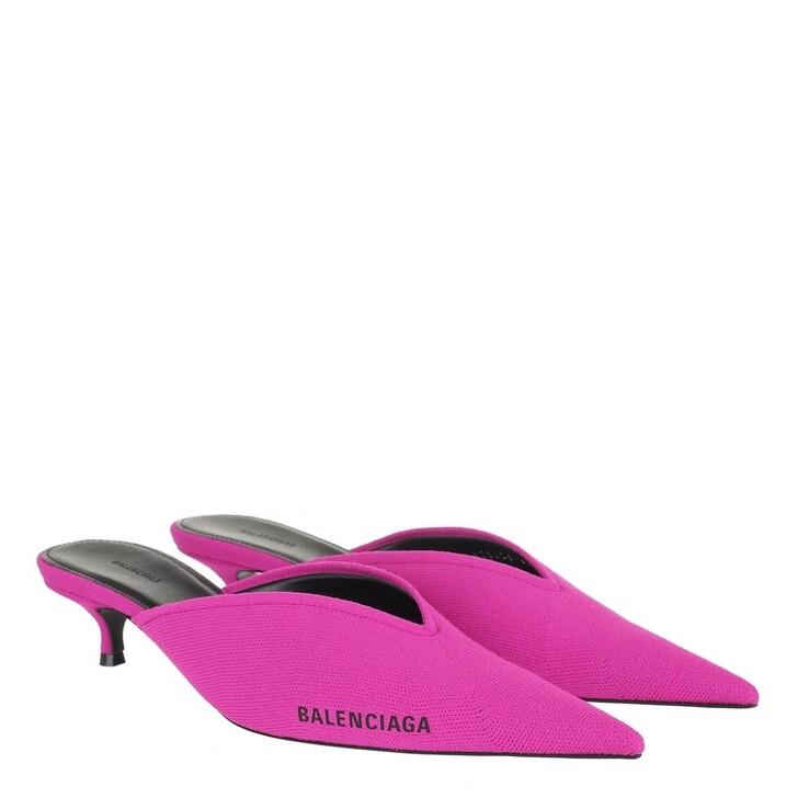 Schuh, Balenciaga, Knife Heeled Mule Pink