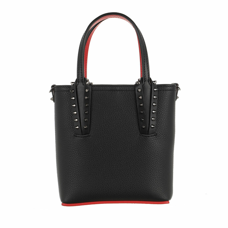 Handtasche, Christian Louboutin, Cabata Mini Tote Bag Black