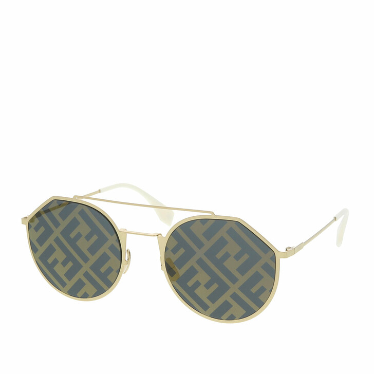 Sonnenbrille, Fendi, FF M0021/S Gold White