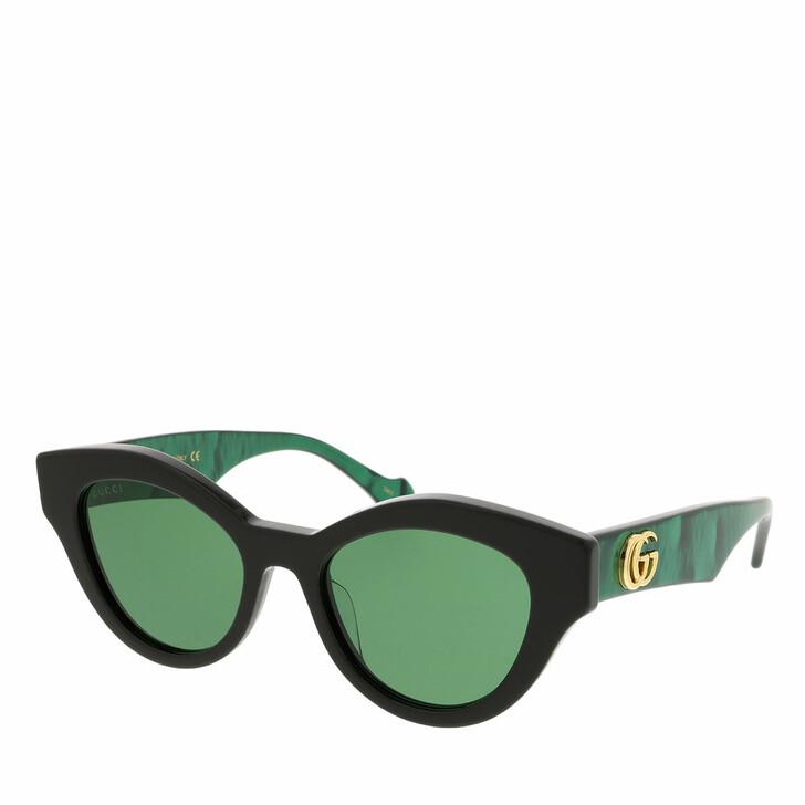 Sonnenbrille, Gucci, GG0957S-001 51 Sunglass WOMAN ACETATE BLACK