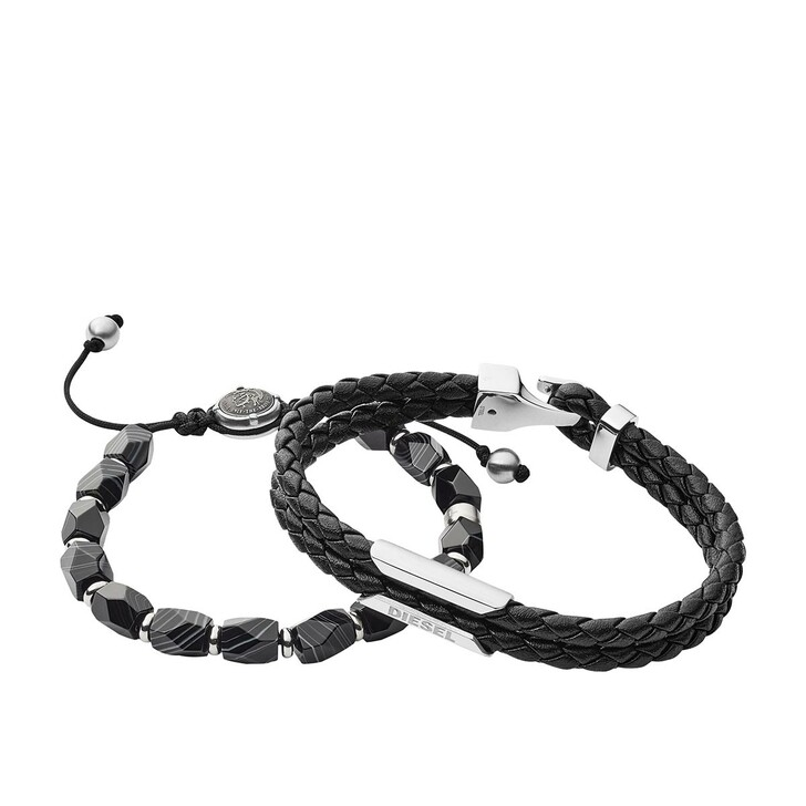 Armreif, Diesel, Stackables Bracelet  Black
